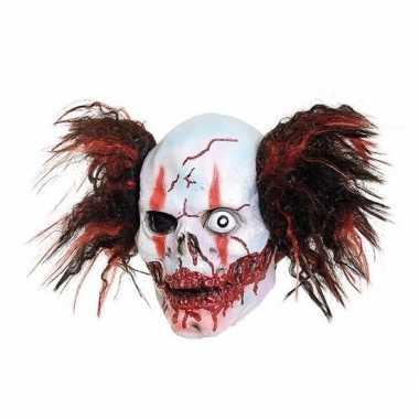 Latex horror masker creepy one-eye willy