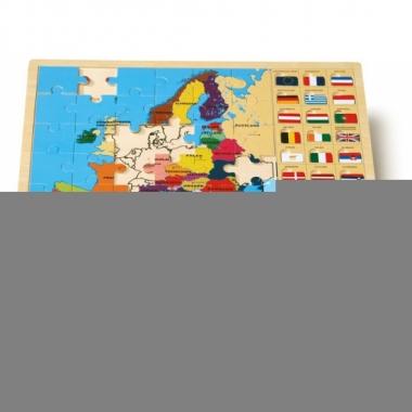 Feest leerzame puzzel europa voor kinderen