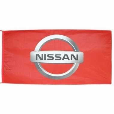 Feest logo vlag nissan 150 x 75 cm