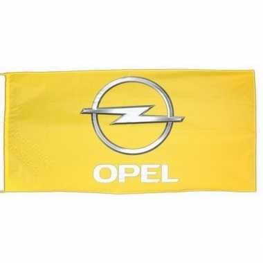 Feest logo vlag opel 150 x 75 cm