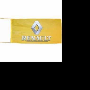 Feest logo vlag renault 150 x 75 cm