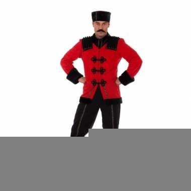 Feest luxe russisch kostuum voor heren