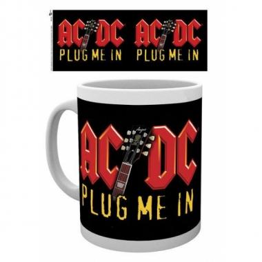 Feest mokken rockband ac dc