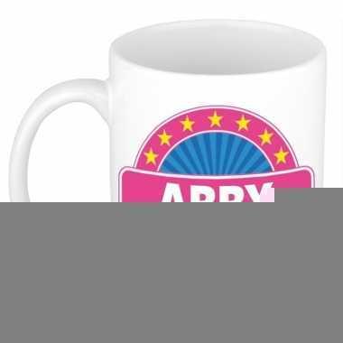 Feest namen koffiemok theebeker abby 300 ml