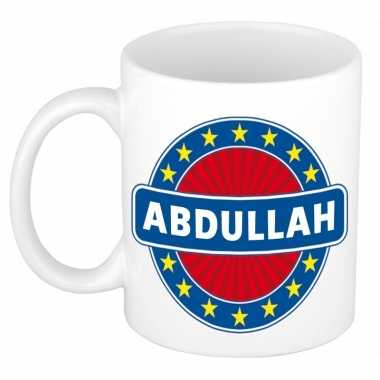 Feest namen koffiemok theebeker abdullah 300 ml