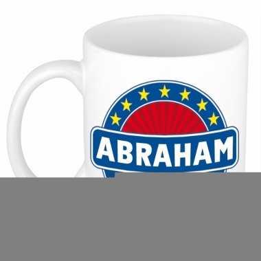 Feest namen koffiemok theebeker abraham 300 ml