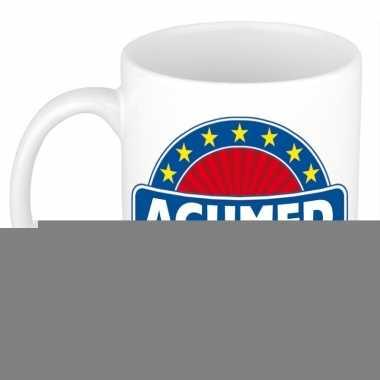 Feest namen koffiemok theebeker achmed 300 ml