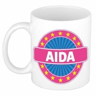Feest namen koffiemok theebeker aida 300 ml