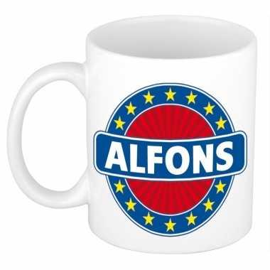 Feest namen koffiemok theebeker alfons 300 ml