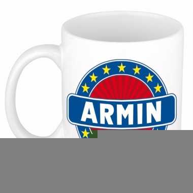 Feest namen koffiemok theebeker armin 300 ml