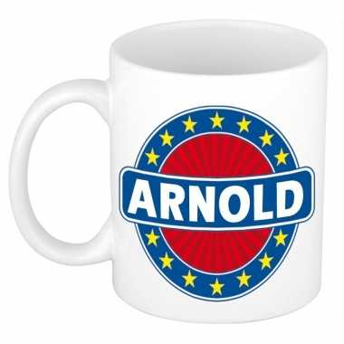 Feest namen koffiemok theebeker arnold 300 ml