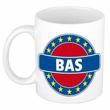 Feest namen koffiemok theebeker bas 300 ml