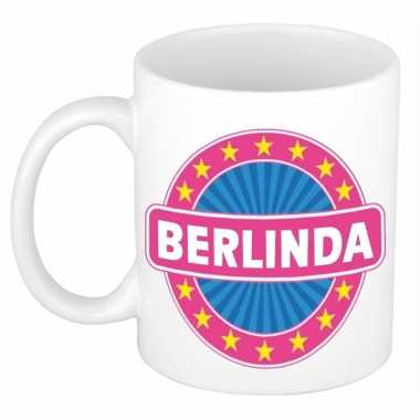 Feest namen koffiemok theebeker berlinda 300 ml