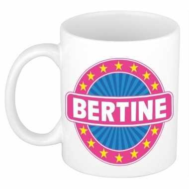 Feest namen koffiemok theebeker bertine 300 ml