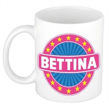 Feest namen koffiemok theebeker bettina 300 ml