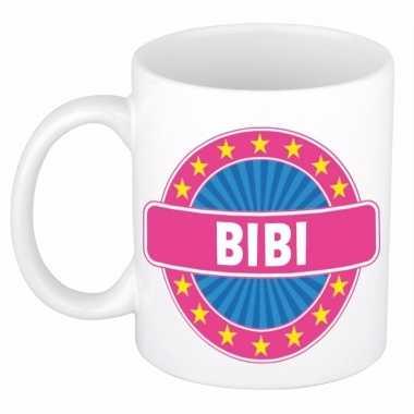 Feest namen koffiemok theebeker bibi 300 ml