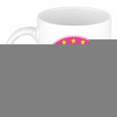 Feest namen koffiemok theebeker bionda 300 ml