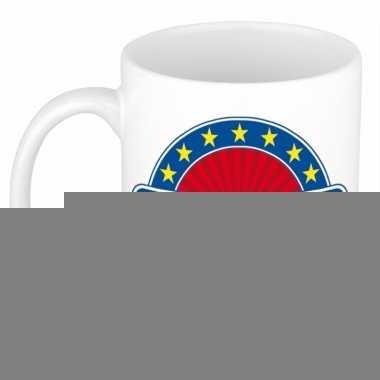 Feest namen koffiemok theebeker boris 300 ml