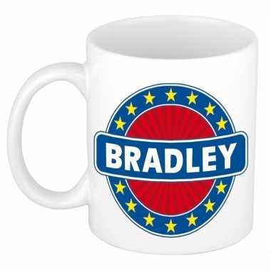 Feest namen koffiemok theebeker bradley 300 ml