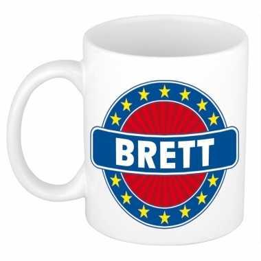 Feest namen koffiemok theebeker brett 300 ml