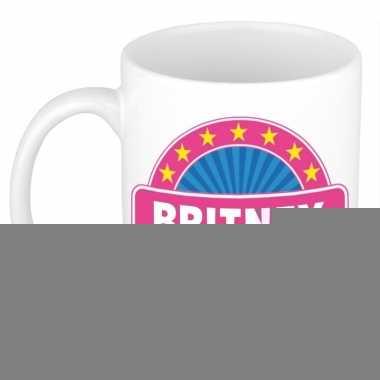 Feest namen koffiemok theebeker britney 300 ml