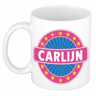 Feest namen koffiemok theebeker carlijn 300 ml