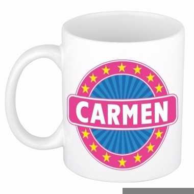 Feest namen koffiemok theebeker carmen 300 ml