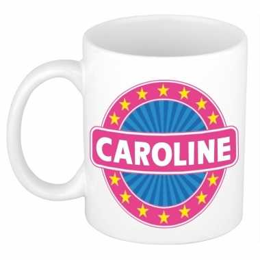 Feest namen koffiemok theebeker caroline 300 ml