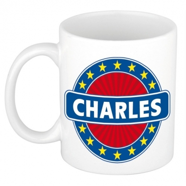 Feest namen koffiemok theebeker charles 300 ml