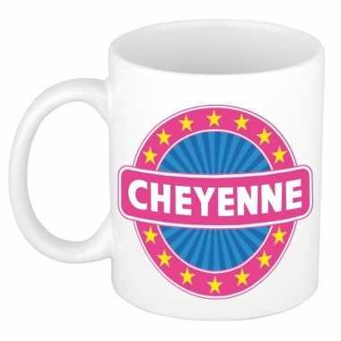 Feest namen koffiemok theebeker cheyenne 300 ml
