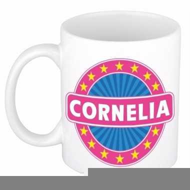 Feest namen koffiemok theebeker cornelia 300 ml