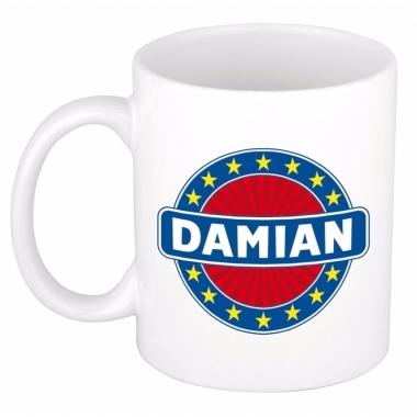 Feest namen koffiemok theebeker damian 300 ml