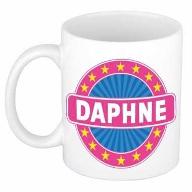 Feest namen koffiemok theebeker daphne 300 ml