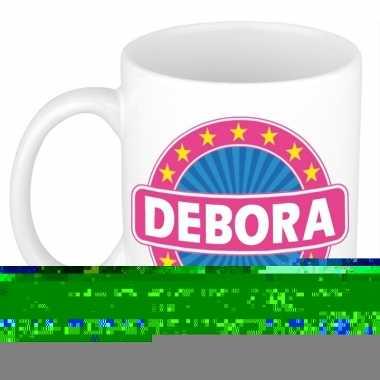 Feest namen koffiemok theebeker debora 300 ml