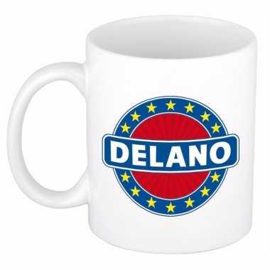 Feest namen koffiemok theebeker delano 300 ml