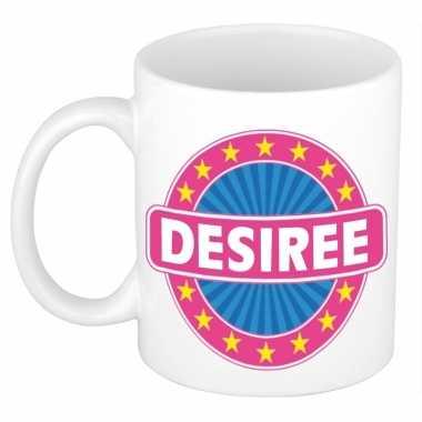 Feest namen koffiemok theebeker desiree 300 ml