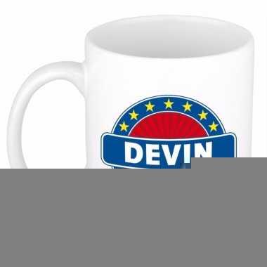 Feest namen koffiemok theebeker devin 300 ml