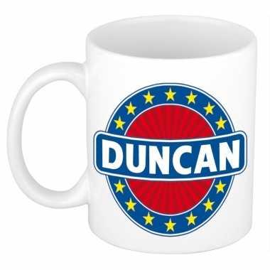 Feest namen koffiemok theebeker duncan 300 ml