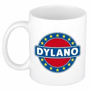 Feest namen koffiemok theebeker dylano 300 ml