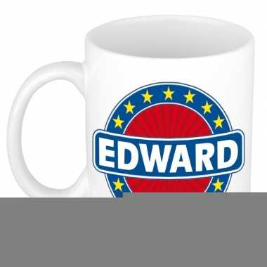 Feest namen koffiemok theebeker edward 300 ml