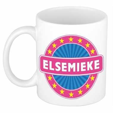 Feest namen koffiemok theebeker elsemieke 300 ml