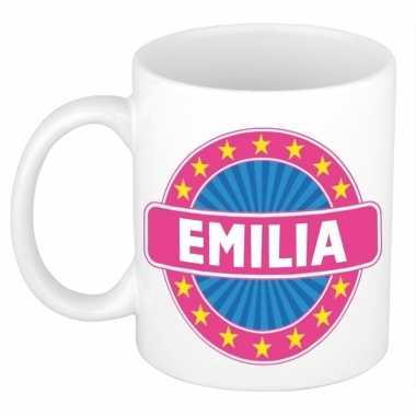 Feest namen koffiemok theebeker emilia 300 ml