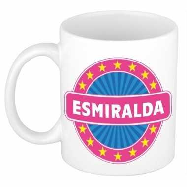 Feest namen koffiemok theebeker esmiralda 300 ml