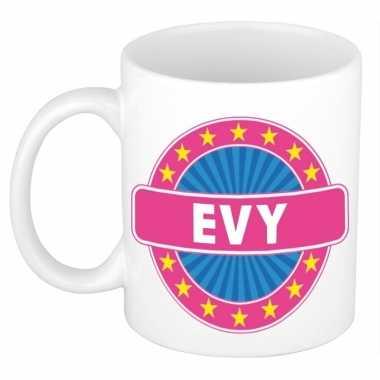 Feest namen koffiemok theebeker evy 300 ml