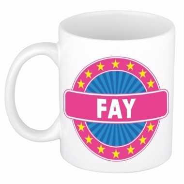 Feest namen koffiemok theebeker fay 300 ml