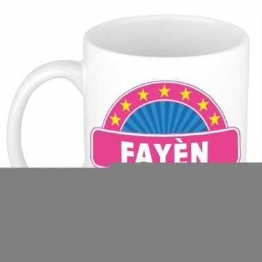 Feest namen koffiemok theebeker fay n 300 ml