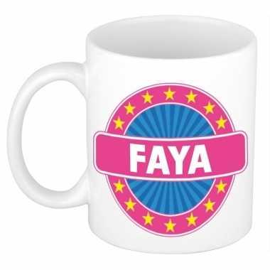 Feest namen koffiemok theebeker faya 300 ml