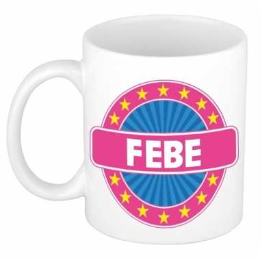 Feest namen koffiemok theebeker febe 300 ml