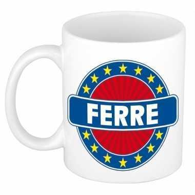 Feest namen koffiemok theebeker ferre 300 ml
