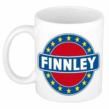 Feest namen koffiemok theebeker finnley 300 ml